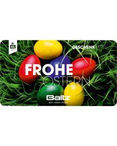 Gutschein Frohe Ostern